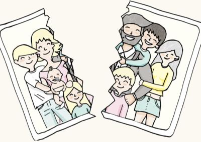 Claves para superar un divorcio con hijos