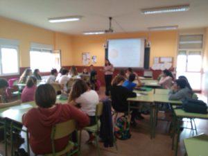 Un taller en uno de los institutos