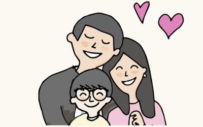 Finales felices Ayudarte: tenemos problemas, pero somos una familia feliz.
