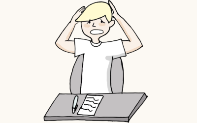 ¿Por qué mi hijo sufre ansiedad ante los exámenes?