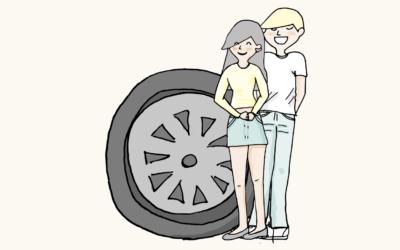Cómo incluir a tu hijo adolescente mientras que vas en coche