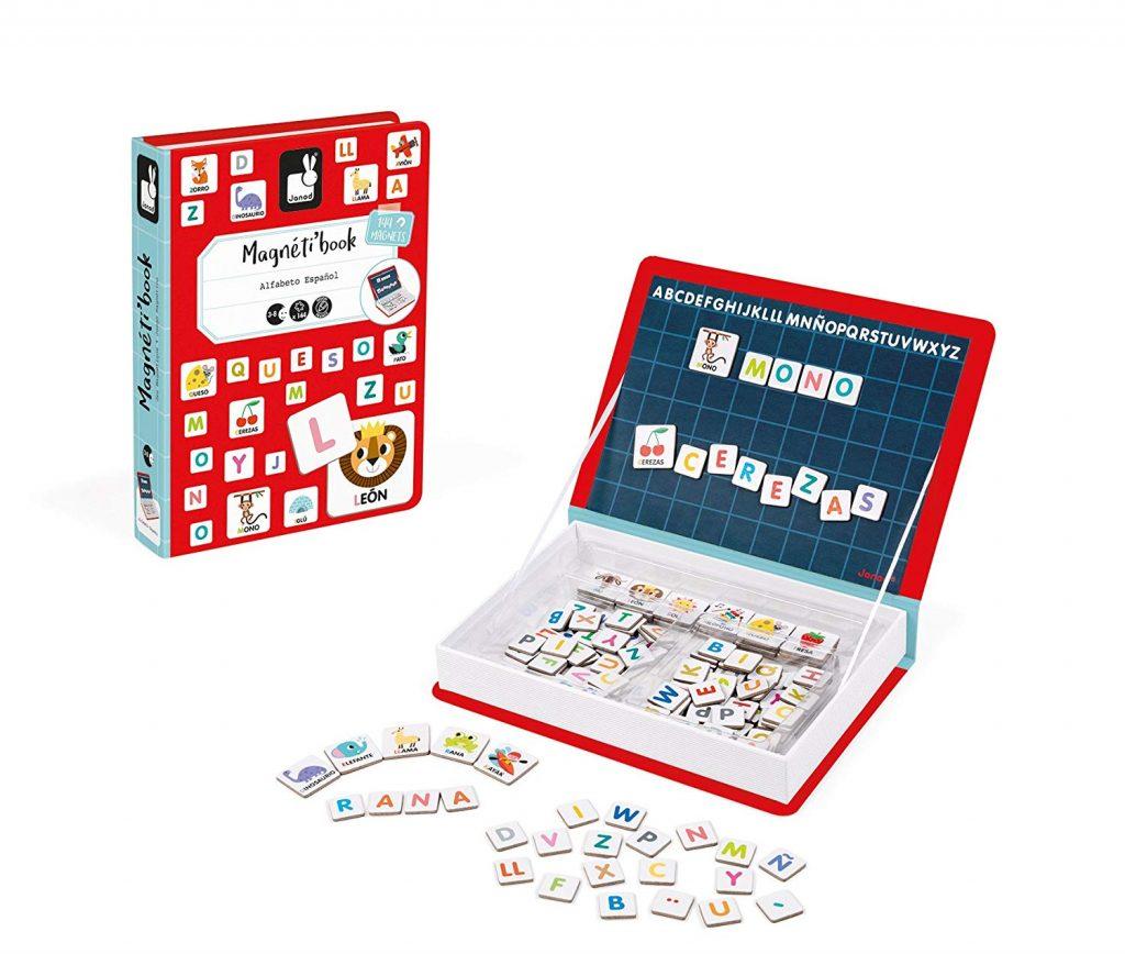Juego de mesa Magnetibook alfabeto en español