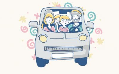 Juegos para viajar en coche para niños de 6 a 12 años con TDAH