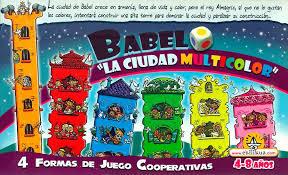 Juego de mesa babel, la ciudad multicolor