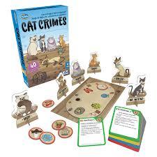Juego de Mesa Crimen de Gatos