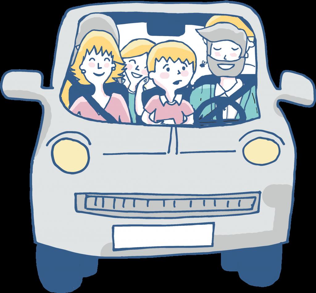 Como Viajar en Coche con Niños Pequeños