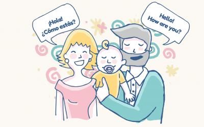 ¿Bilingüismo? 5 mitos y realidades del desarrollo del lenguaje en niños/as bilingües.