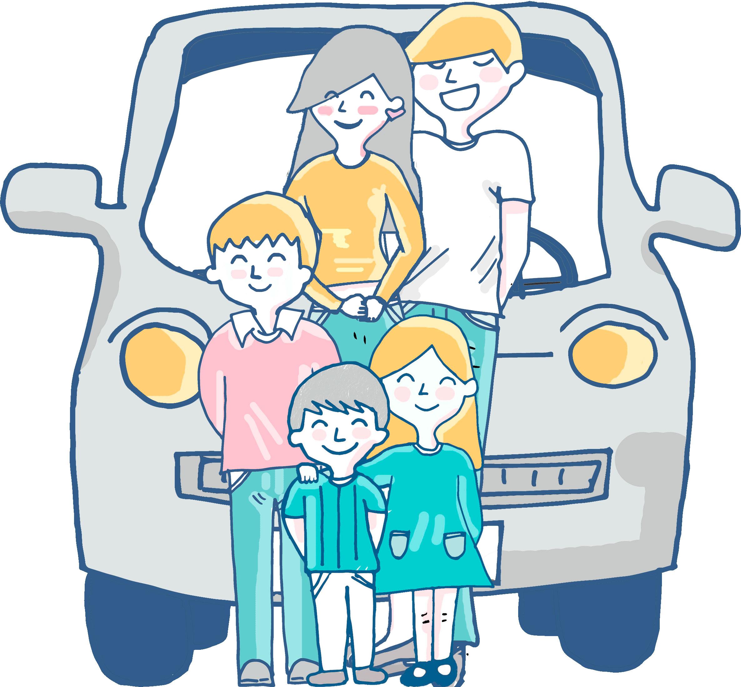 Juegos para entretener a los niños en el coche