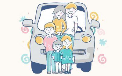Juegos para viajar en coche con niños