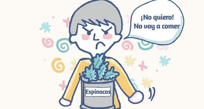 niños no comen verdura