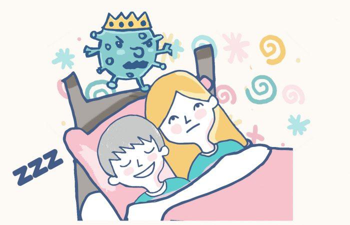 problemas para dormir niños coronavirus