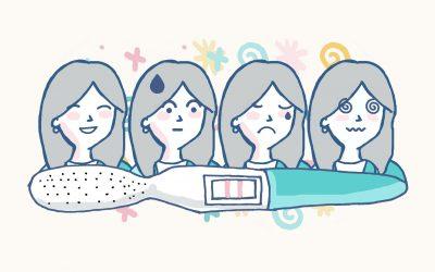 Cambios emocionales en el primer trimestre.Cómo vencer tu miedo y ansiedad durante el embarazo