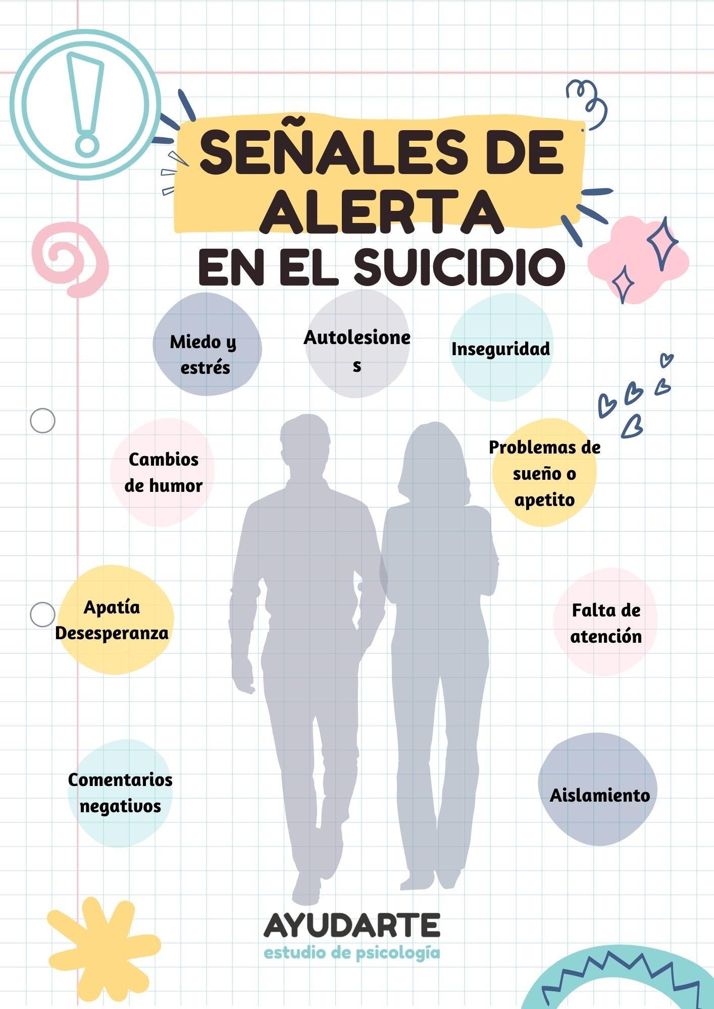 signos de alerta de suicidio juvenil